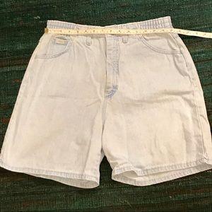 Vintage Lee jean shorts